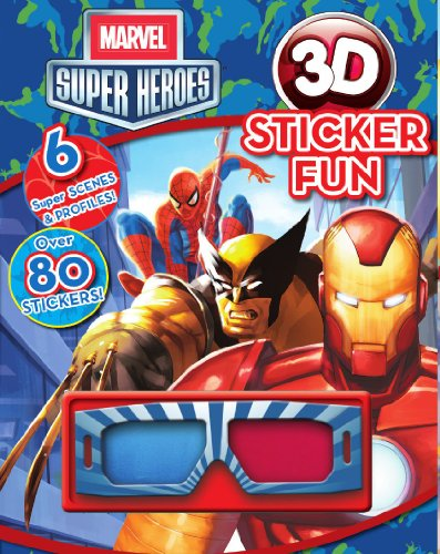 9781445461076: Marvel Super Heroes: 3D Sticker Fun! (Marvel 3D Stick Scn)