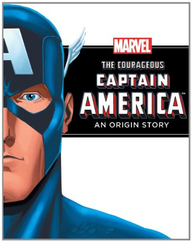 9781445462325: Marvel Chapter Book - The Courageous Captain America