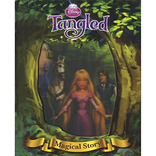 9781445464800: Disney Tangled Magical Story with Amazing Moving Picture Cover (Disney Magical Story)