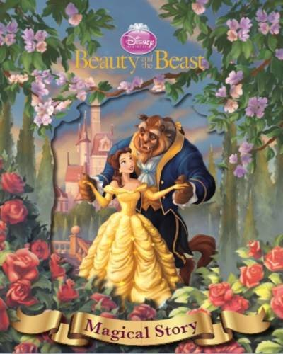 9781445464817: Disney Beauty and the Beast Magical Story with Amazing Moving Picture Cover