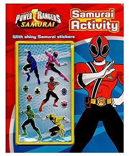Power Rangers Samurai: Samurai Activity (With Shining Samurai Stickers): Parragon Publishing India