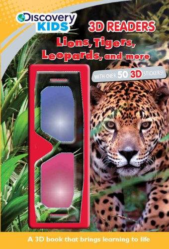 9781445466538: Lions, Tigers, Leopards, & More (Discovery Kids) (Discovery 3D Readers)