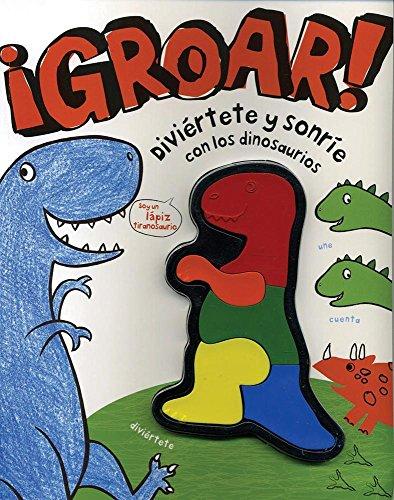 9781445467870: ¡Bumba! Diviértete y sonríe con los dinosaurios (Spanish Edition) (Activity W Crayons)