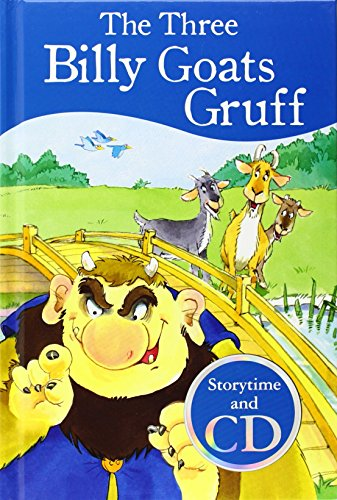 9781445470672: The Three Billy Goats Gruff. Story Time (+ CD)