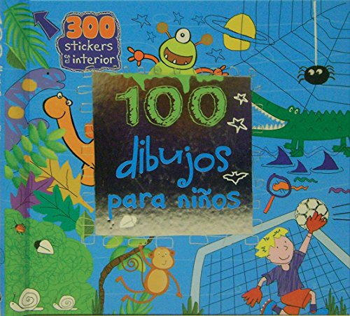 9781445472249: 100 dibujos para ninos (Spiral Bound ACT) (Spanish Edition)
