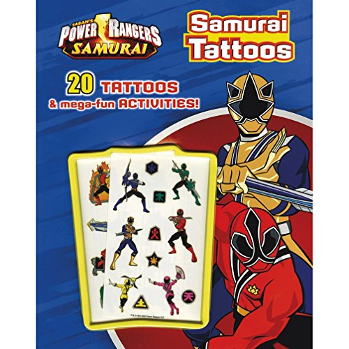 9781445472669: Power Rangers Tattoo Book (Power Rangers Samurai)