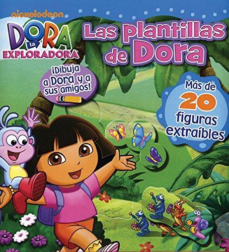 9781445472782: Dora La Exploradora: Las Plantillas De Dora