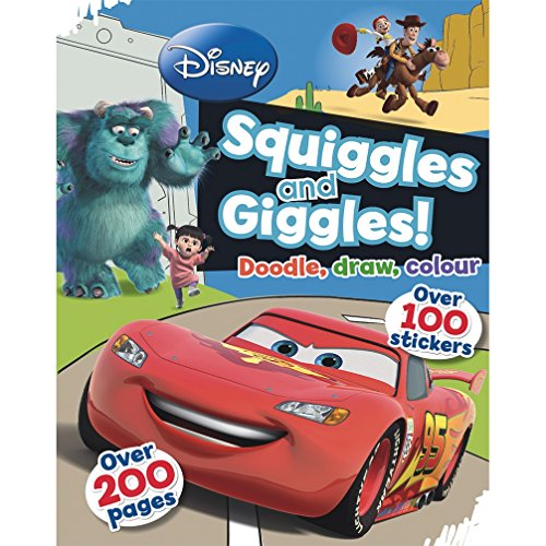 9781445475202: Disney Pixar Squiggles and Giggles