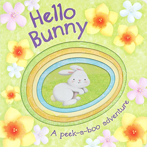 9781445477268: Hello Bunny (Die-Cut Animal Board)