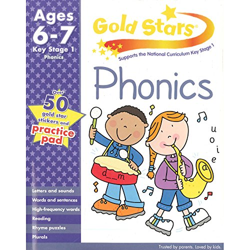 9781445477558: Gold Stars KS1 Phonics Workbook Age 6-8