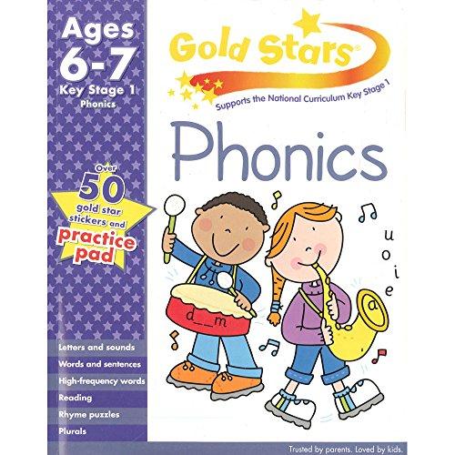 9781445477558: Gold Stars KS1 Phonics Workbook Age 6-8 (Gold Stars Workbook Packs)
