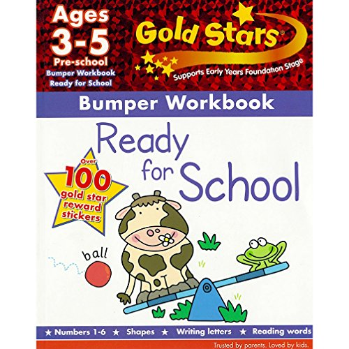 9781445477633: Gold Stars Ready for School Bumper Workbook