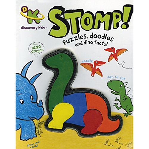Stomp! (Puzzles, Doodles and Dino Facts!): Parragon Publishing India