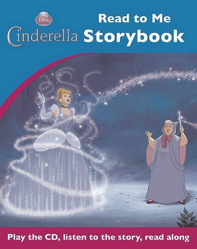 Disney Cinderella Read to Me Book & CD: Parragon Book Service Ltd