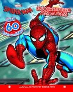 9781445486888: Marvel Spider-Man Malbuch: Spinntastischer Ausmalspa�