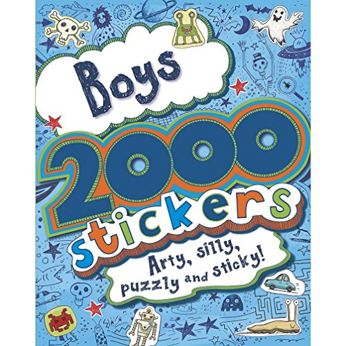 9781445487694: 2000 Stickers Book