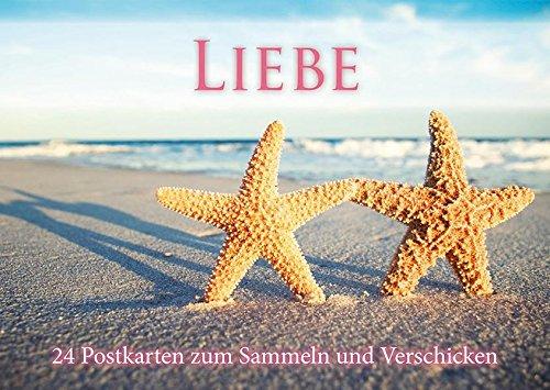 9781445488127: Liebe Postkartenbuch: 24 Postkarten zum Sammeln und Verschicken