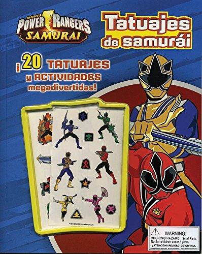 9781445488257: Power rangers - Tatuajes de samurai
