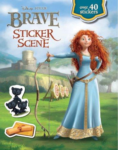 Disney Brave Sticker Scene (Disney Pixar Brave Film Tie in): Disney