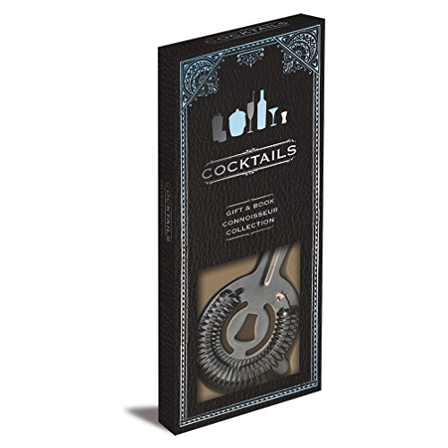 9781445490106: Cocktails Gift Set: Book and Cocktail Strainer