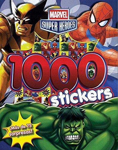 9781445496993: 1000 Marvel Stickers