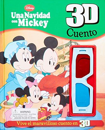 9781445497129: Disney 3D Cuento: Mickey's Christmas Carol (Spanish Edition)