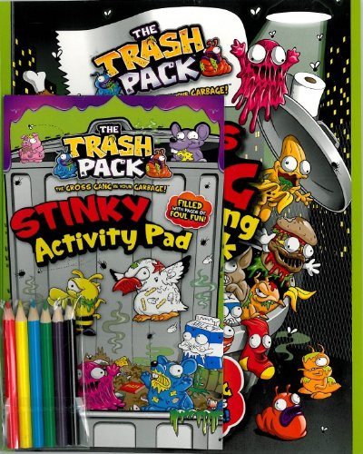 9781445497198: Trash Pack Jumbo Activity Pack (Parragon)