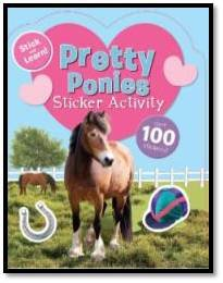 9781445497518: Sticker Activity Books - Pretty Ponies