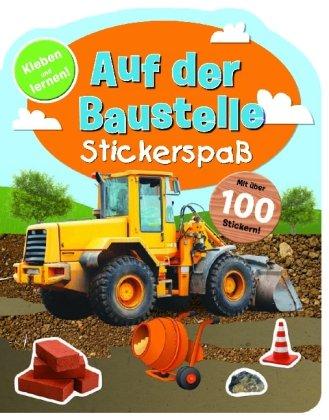 9781445497532: Auf der Baustelle: Stickerbuch