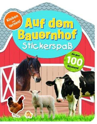 9781445497549: Bauernhoffreunde: Stickerbuch
