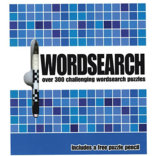 Wordsearch: Over 300 Challenging Word Search Puzzles: Parragon Publishing India