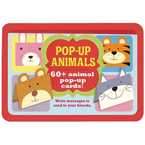 Pop-Up Animals: 60 + Animal Pop-Up Cards!: Parragon Publishing India