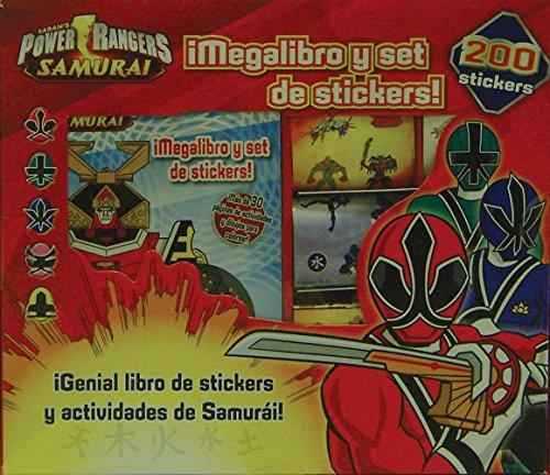 9781445499901: Power Rangers Samurai - Megalibro Y Set De Stickers