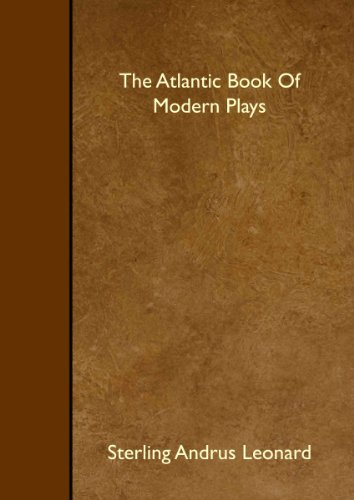 9781445517698: The Atlantic Book Of Modern Plays