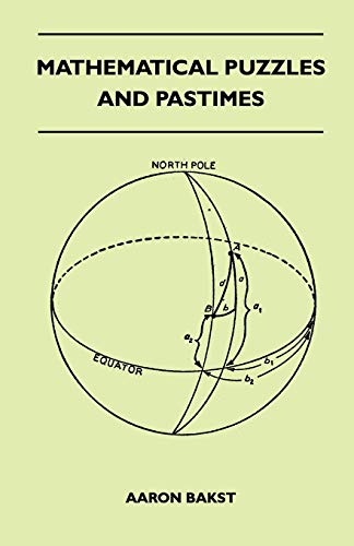9781445525648: Mathematical Puzzles And Pastimes
