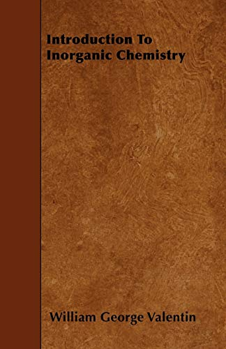 Beispielbild für Introduction to Inorganic Chemistry zum Verkauf von Better World Books Ltd