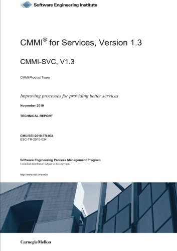 9781445797915: CMMI for Services Version 1.3
