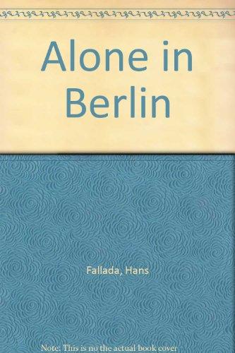 9781445854618: Alone in Berlin