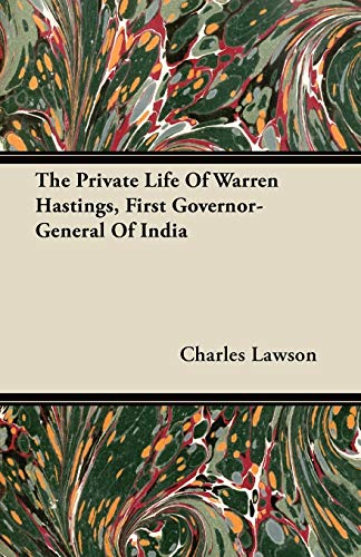 warren hastings first governor general india - AbeBooks