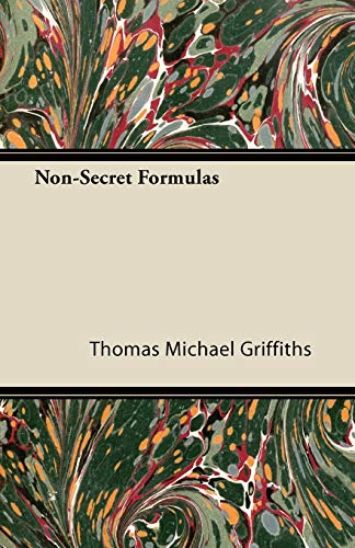 Non-Secret Formulas: Thomas Michael Griffiths