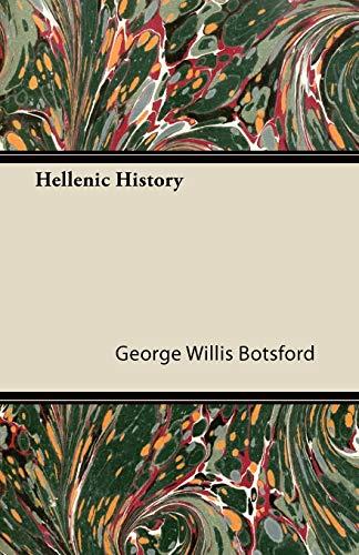 9781446092835: Hellenic History