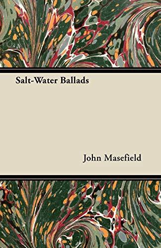 9781446099377: Salt-Water Ballads