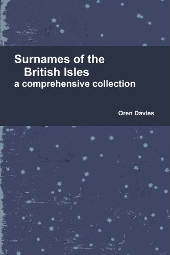 9781446153659: Surnames of the British Isles