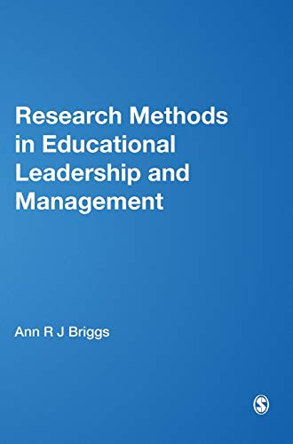 9781446200438: Research Methods in Educational Leadership and Management