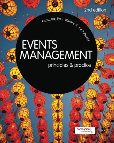 9781446200735: Events Management: Principles and Practice