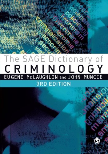 9781446200834: The SAGE Dictionary of Criminology