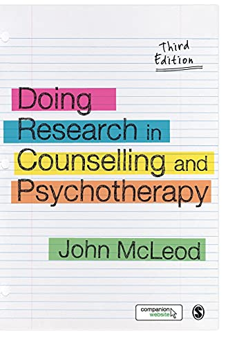 9781446201381: Doing Research in Counselling and Psychotherapy