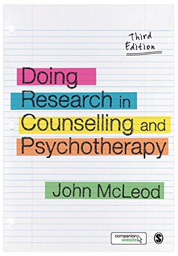 9781446201398: Doing Research in Counselling and Psychotherapy