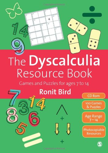 9781446201688: The Dyscalculia Resource Book: Games and Puzzles for ages 7 to 14