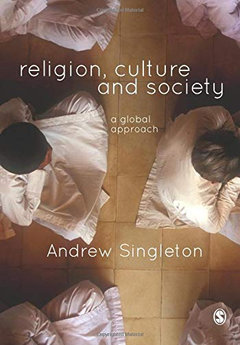 9781446202913: Religion, Culture & Society